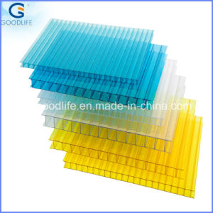 Anti-UV Hollow Plastic Polycarbonate Sheet for Wholesale pictures & photos