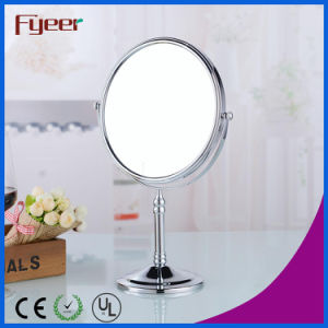 Fyeer Wholesale Round Brass Cosmetic Mirror (M5618) pictures & photos