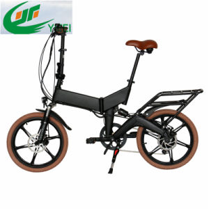 Ce Foldable Magnesium Wheel Electric Bike with Hidden Battery and Suspension pictures & photos