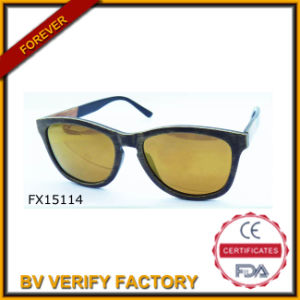 Trade Assurance Bamboo Sunglasses (FX15114) pictures & photos