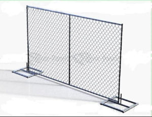 American 6foot*10foot Chain Link Temporary Fence Panel/Temporary Fencing pictures & photos