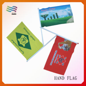 Polyester Waving Flag/Advertising Hand Flag Banner (HYHF-AF063) pictures & photos