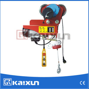 Moving Wire Rope Electric Trolley Hoist (HDGD-200C) pictures & photos