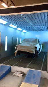 Wld8400 Car Auto Water Based / Waterborne Spray Booth pictures & photos