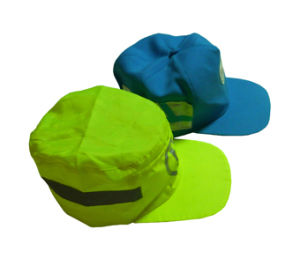 Safety Reflective Caps with Reflective Binding pictures & photos