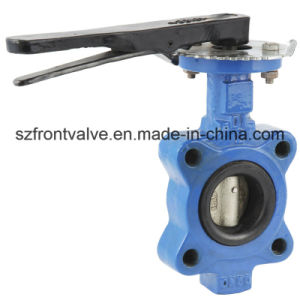 Gear Operated Cast Iron/Ductile Iron Lugged Butterfly Valve pictures & photos