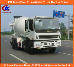 Heavy Duty 10cbm Isuzu Concrete Transit Mixer / Truck Mounted Mixer pictures & photos