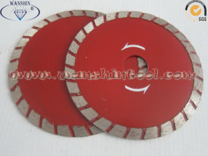 4.5′′ Wide Turbo Diamond Saw Blade for Granite pictures & photos