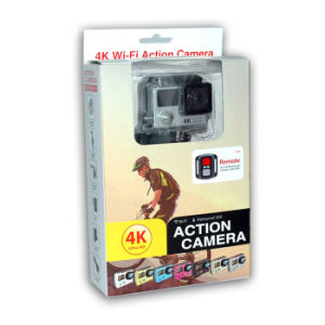 2.0 Inch Ultra HD 4k 170 Degrees Wide Angle Sports Camera Dual Screen 1080P/60fps Action Camera WiFi Video Camera H3r with Remote Control pictures & photos