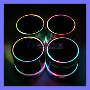 High Quanlity TF Card Bluetooth Speakers Mini Portable Bluetooth Woofer Speaker with LED Light pictures & photos