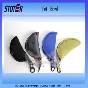 High Class Oxford Outdoor Portable Feeding Pet Bowl