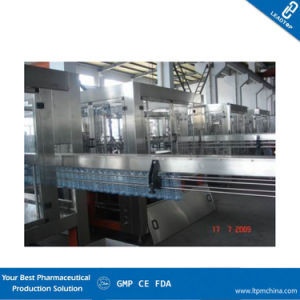 Automatic Volumetric Inline Liquid Bottle Filling Machine with Siemens Control pictures & photos
