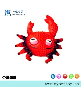 High Quality Latex Crab Latex Pet Toy pictures & photos