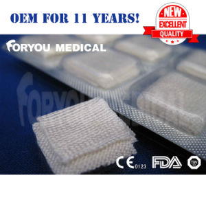 Medical Soluble Hemostatic Gauze with FDA 510k CE ISO13485 pictures & photos