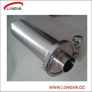 Sanitary Stainless Steel Straight Strainer pictures & photos