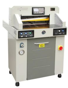 professional Manufacture Hydraulic Paper Cutting Machine (WD-5208H) pictures & photos