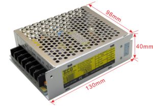 IP20 AC/DC 12V 60W LED Driver for LED Strips pictures & photos