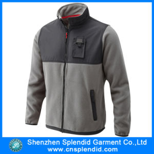 Custom Design Fashionable Fleece Jacket Made in China