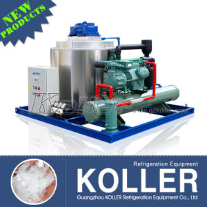 Energy Saving Flake Ice Machine with 5 Tons Capacity pictures & photos