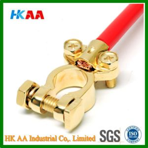 Customized High Quality Gold Plated Universal Battery Terminal pictures & photos