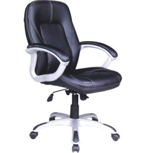 Black Leather Swivel Executive Office Boss Chair for Sale (FS-8309) pictures & photos