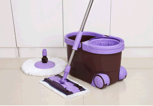 Spin Mop with Flat Mop pictures & photos