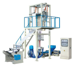Single Layer PE Carrier Bag Film Extrusion Machine pictures & photos