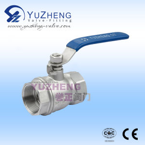 304# Stainless Steel Manual Ball Valve Factory in China pictures & photos