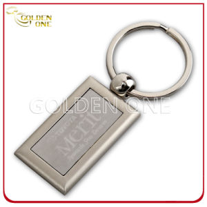 Good Quality Matte Nickel Laser Engraving Metal Keychain pictures & photos