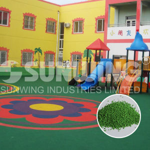 Removable Basketball Floor Plastic Granules EPDM Mat pictures & photos