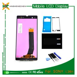 Hot Replacement LCD Touch Screen for Sony Xperia Z L36h pictures & photos