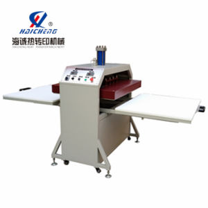 CE Hydraulic Double Stations Heat Transfer Machine