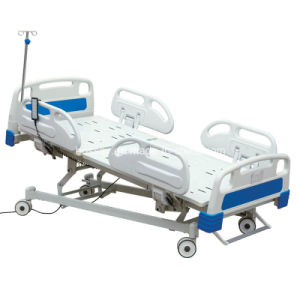 Electric Hospital Bed with Four Functions pictures & photos