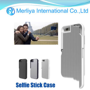 Aluminum Selfie Stick Build in Bluetooth Remote Case Cover for iPhone 6 pictures & photos