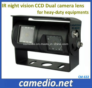 IP69k Waterproof Night Vision Dual Camera Lens Rear View Camera for Heay-Duty Equipments pictures & photos