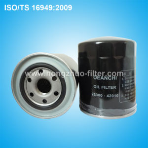 Oil Filter 26300-42010 pictures & photos
