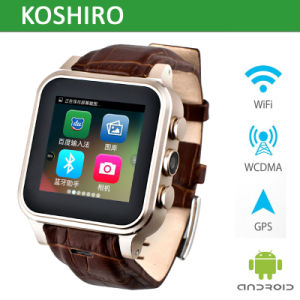 Android SIM Card Watch Mobile Phone with Bluetooth Smart Watch pictures & photos