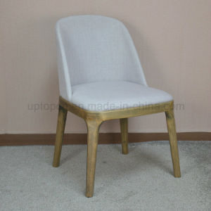 Wooden Feet Poliform Grace Fabric Dining Chair (SP-EC621) pictures & photos