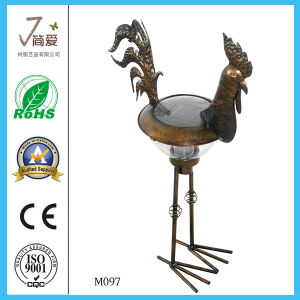 Hot Sale Rooster Iron Garden Ornaments pictures & photos