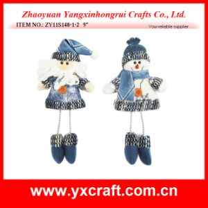 Christmas Decoration (ZY11S148-1-2) Christmas Santa Cake Decoration pictures & photos