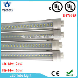 UL AC85-265V LED Tube T8 Tube Double Row pictures & photos