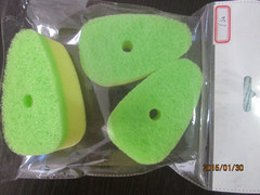 Green Color Scouring Pad for Kitchen pictures & photos