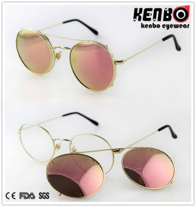 Nice design Round Separable Frame Metal Sunglasses for Accessory, CE, FDA, Km15249 pictures & photos