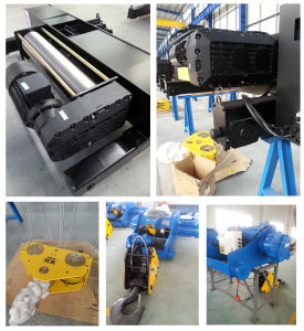 5 Ton Electric Wire Rope Hoist with Trolley pictures & photos