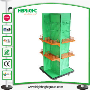 Retail Solution Small Four Sided Supermarket Store Display Shelf pictures & photos