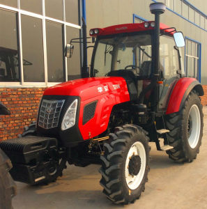 100HP 110HP 4WD Agricultural Farm Wheel Tractors for Sale pictures & photos