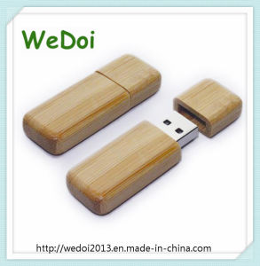 Popular Wooden USB Stick with Ce RoHS FCC (WY-W20) pictures & photos