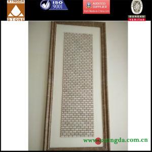 Grey/White Polished Marble Mosaic Tile Quality Life