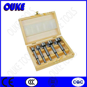 High Carbon Steel Forstner Bit Set with Wooden Case pictures & photos