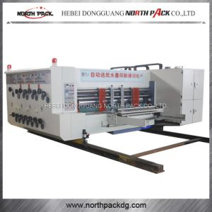 Ceramic Roller Automatic Flexo Printing slotting and die-cutting Machine pictures & photos